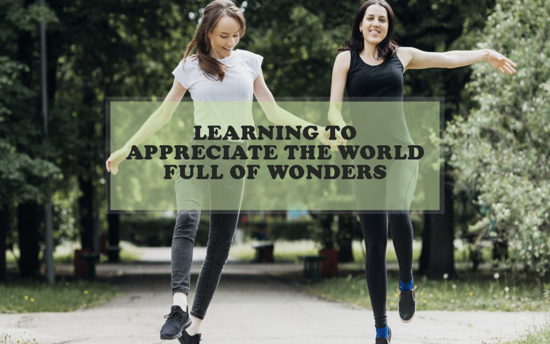 Learning to Appreciate the World Full of Wonders